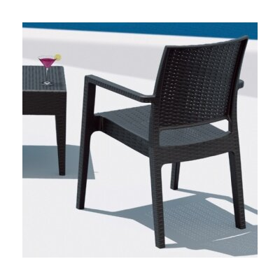 Compamia Ibiza Wickerlook Dining Arm Chair (Set of 2)