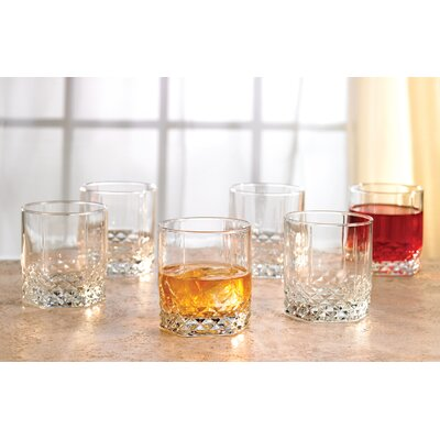 Style Setter Rocks 11 oz. Old Fashioned Glass (Set of 6)