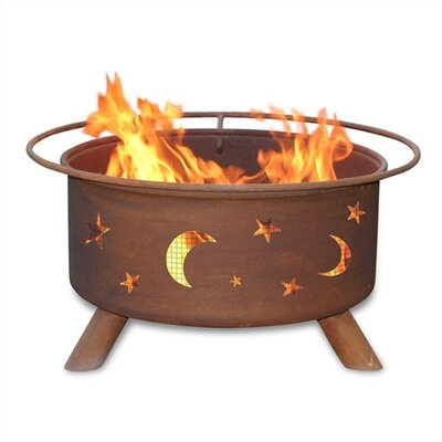 Evening Sky Fire Pit
