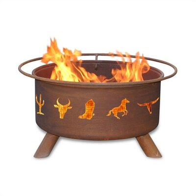 Patina Products Western Cowboy Fire Pit