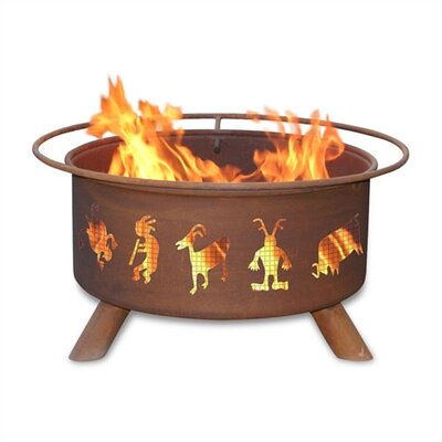 Patina Products Kokopelli Fire Pit