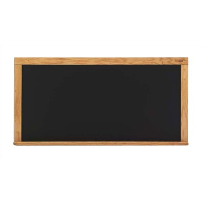 Marsh canDeluxe Steel-Rite Chalkboards - Oak Frame