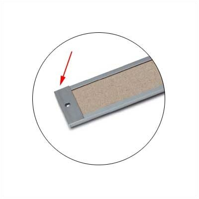 Marsh Map Rail Accessories - Map Rail End Plate - (Qty. 6)