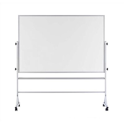 Marsh Freestanding Reversible Boards - Both sides Pro-Rite Markerboard - Aluminum Frame