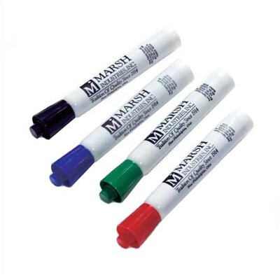 Marsh Maka Mark- Pro-Rite Markers - Box of Twelve Assorted Colors
