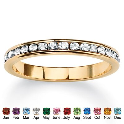 Birthstone Eternity Ring