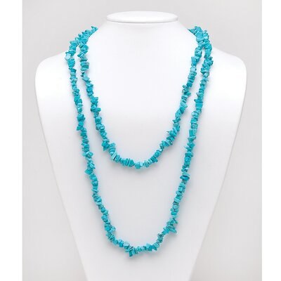 Palm Beach Jewelry Turquoise Nugget Necklace