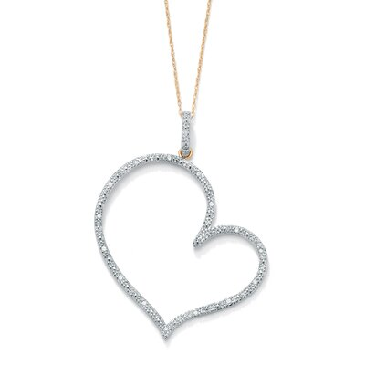 Diamond Heart - Shaped Pendant
