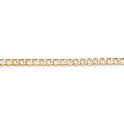 Gold Curb-Link Necklace