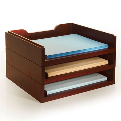 Empire Office Solutions Stack and Style Desktop Letter Tray