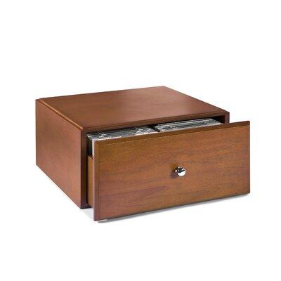 Bindertek Dealer Solutions Stack and Style Wood Media Storage Drawer