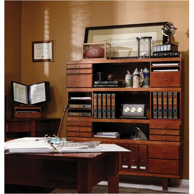 Empire Office Solutions Stack and Style Wood Step-Up Project Management File Caddy