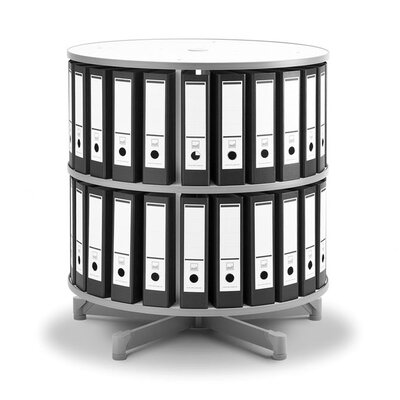 Empire Office Solutions Spin-N-File 2-Tier Rotary Binder Storage Carousel