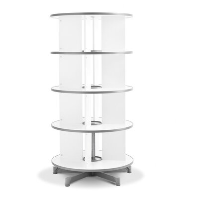 Empire Office Solutions Spin-N-File 4-Tier Rotary Binder Storage Carousel