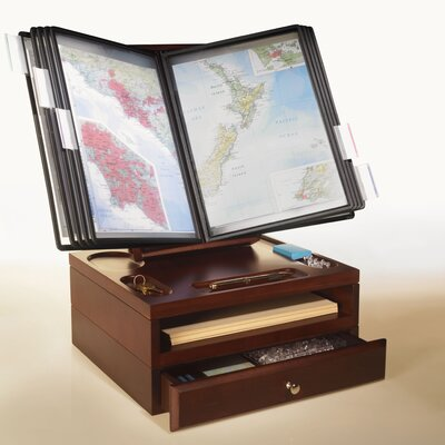 Empire Office Solutions Stack and Style Desktop Reference Caddy