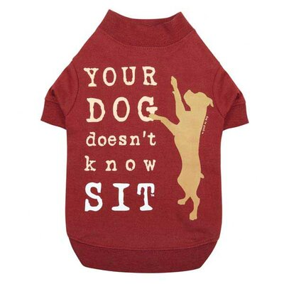 Dog is Good Doesn't Know Sit Dog Tee