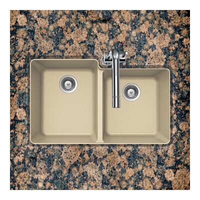 Madison Series Undermount 60/40 Double Bowl Sink