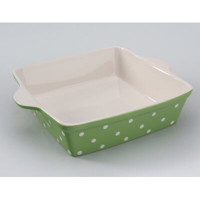 Signature Housewares Dots Square Baker