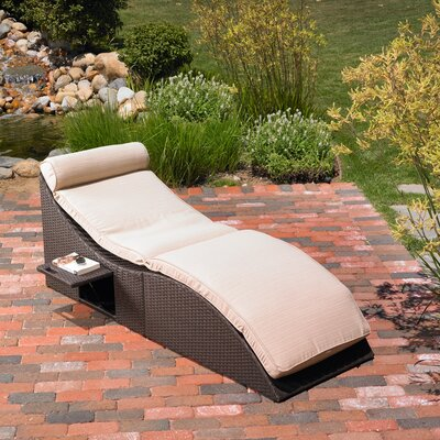 Mission Hills St.Lucia Chaise Lounge with Cushion