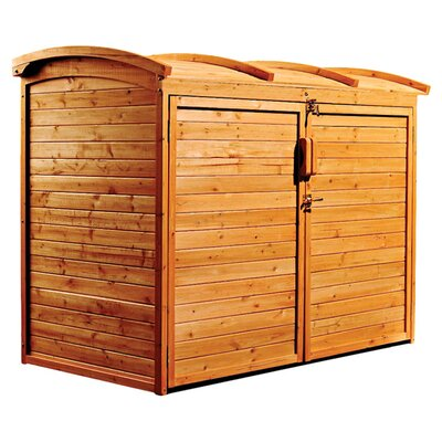 Leisure Season Refuse Wood Storage Shed