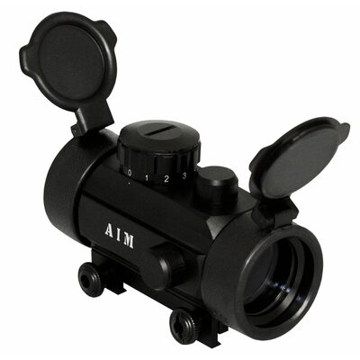 1 X 30 Dot Sight Weaver Base with Flip-Up Lens