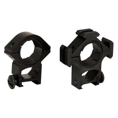 "Aim Sports Inc Tri-Ring Mount / 30mm / 1"" Insert-High"