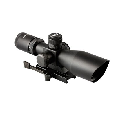 Aim Sports Inc Dual ILL Scope with Cut Sunshade with Mil-Dot