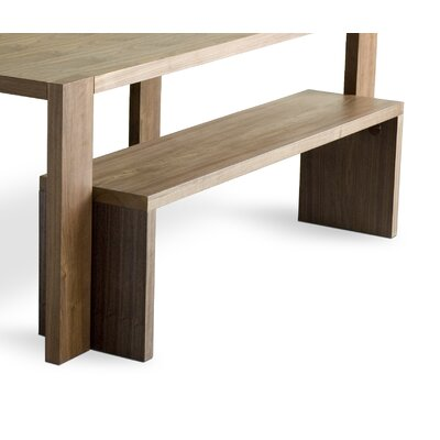 Gus Modern Plank Wooden Kitchen Bench