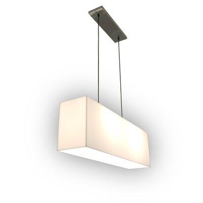 Gus* Modern White Acrylic Hanging Lamp