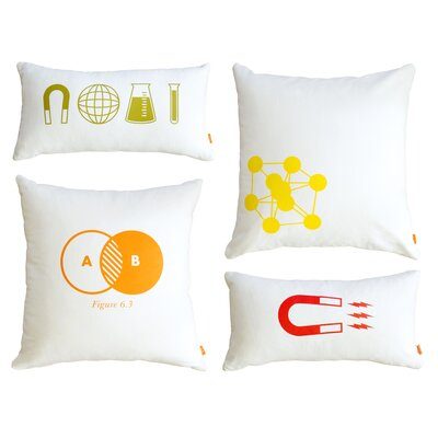 Gus Modern Graphic Pillows (Set of 4)