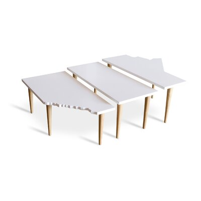 Gus* Modern Prairie 3 Piece Nesting Tables
