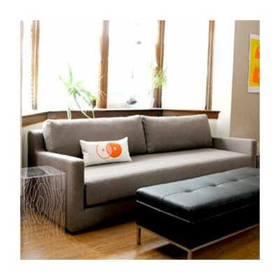 Gus modern fabric sleeper sofa allmodern for Gus sectional sleeper sofa