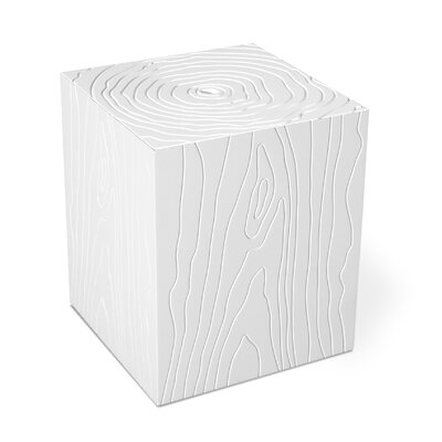 Gus Modern Stump Storage Box in White