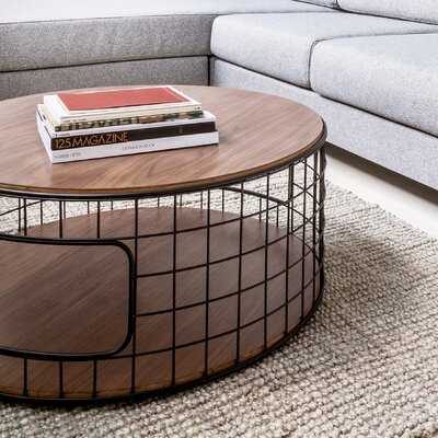 Gus* Modern Wireframe Coffee Table