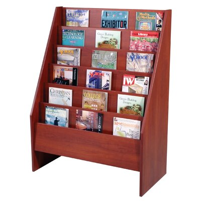 Paragon Furniture 6 Pocket Magazine Display Unit