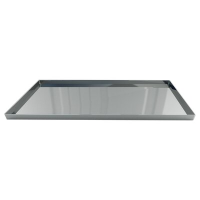 NU Steel Gloss Amenity Tray