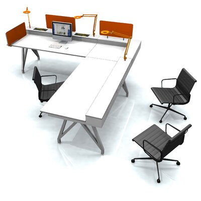 Scale 1:1 EYHOV Rise Executive Workstation