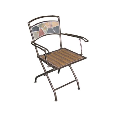 Deeco Rock Canyon Folding Dining Arm Chairs
