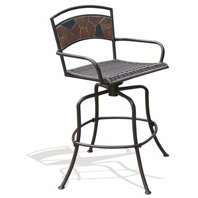 Rock Canyon Swivel Bar Chair (Set of 2)