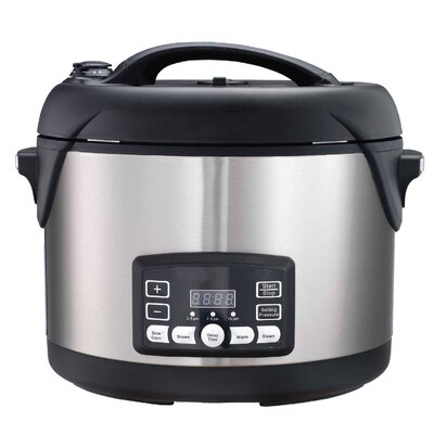 The Big Boss Stainless Steel Pressure Cooker