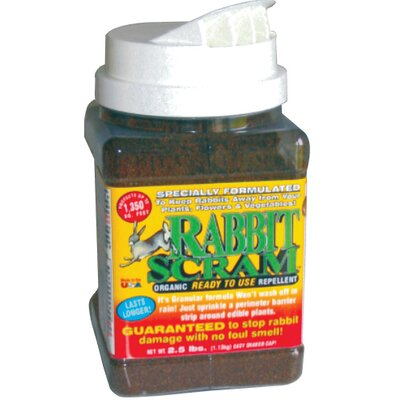 Enviro Pro Rabbit Scram Repellent Granular Shaker Can