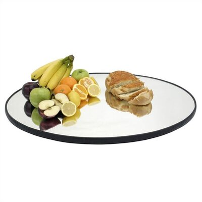 Oval Food Display Mirror