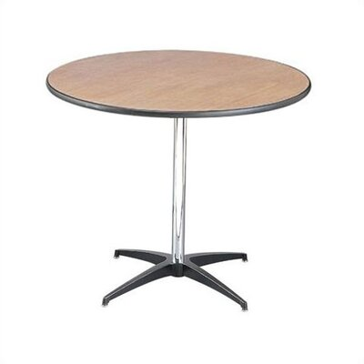 "Buffet Enhancements 36""  x 30"" Round Pedestal Table"