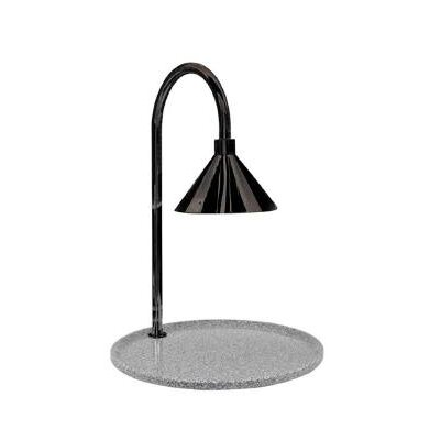 Buffet Enhancements Contemporary Single Stainless Steel Lamp Round Carving Station