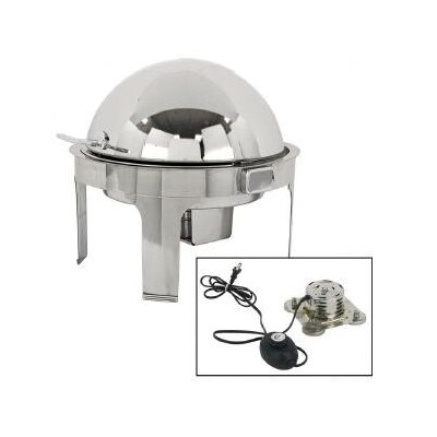 Buffet Enhancements Classic Empire Style Round Chafing Dish with Magnetic Electric Heater