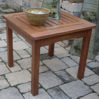 Outdoor Interiors Eucalyptus End Table