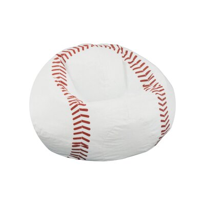 Elite Products Child Sport Baseball Bean Bag Chair