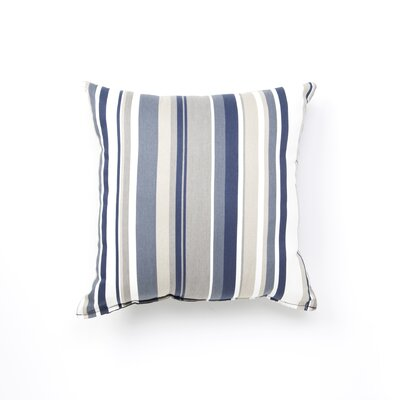 Elite Products Newport Navy Stripe Designer Print Pillow