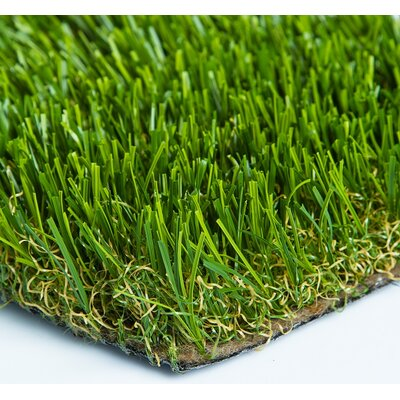"Everlast Turf Diamond Light Spring 90"" x 90"" Synthetic Lawn Grass Turf"