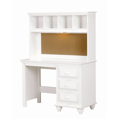 Lang Furniture Madison Desk with Lighted Hutch